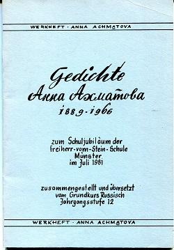 Gedichte Anna Achmatowa